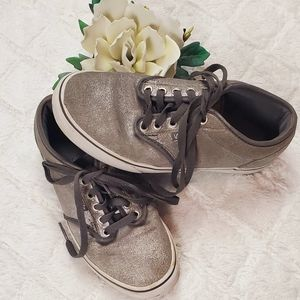 Vans Off the Wall Silver/Gray Sneakers